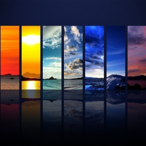 SKY Spectrum Red Blue Wallpaper Download