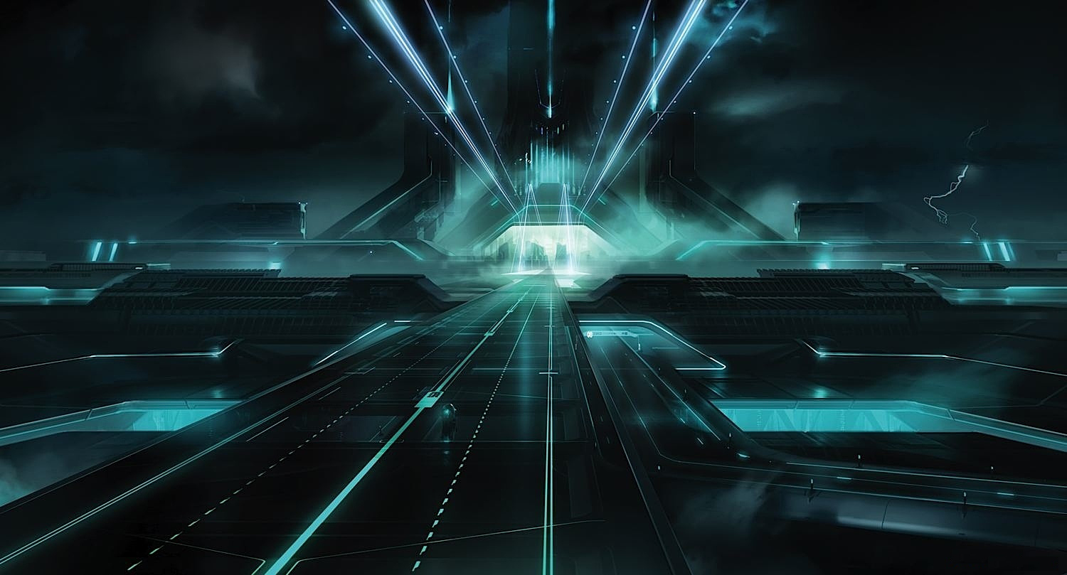 Download Tron The Grid Wallpaper