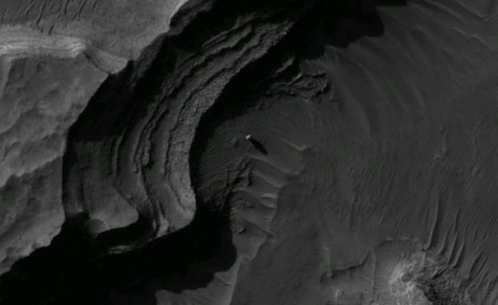 Mars Monolith Uzboi Vallis HiRISE Anomaly