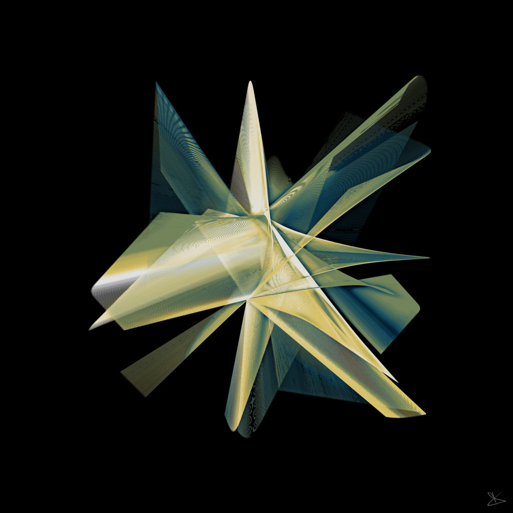 ONYRIX / Dino Olivieri - Imago Computazionale 6 - Hyperflower - 2016