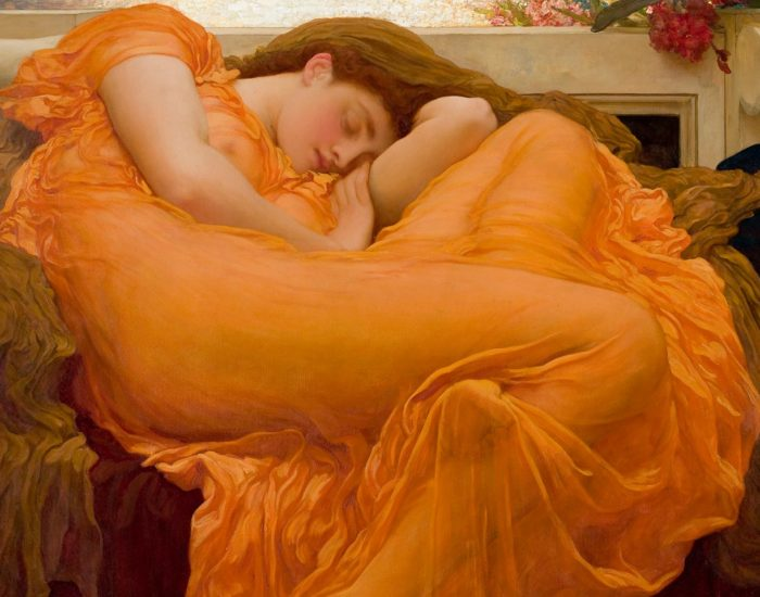 Cos i feel you - Flaming June - Frick Frederic Lord Leighton