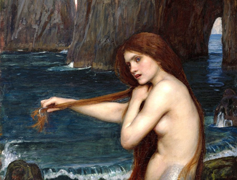 So Impossible.. John William Waterhouse - The Mermaid